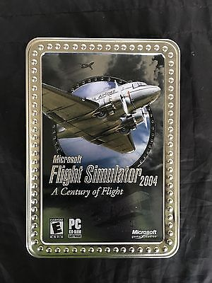 Microsoft Flight Simulator 2004: A Century of Flight (PC, 2003) Collectors Tin, used for sale  Land O' Lakes