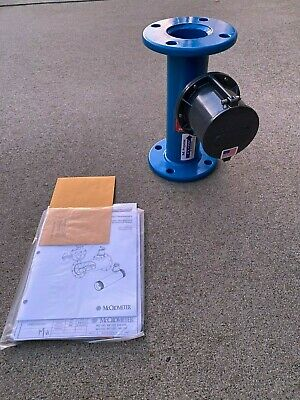 Mccrometer Mf103 Flanged Flow Meter Irrigation Water Construction Pump 3 Inch