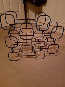 Stylish geometric cubist wine rack-new Lockleys West Torrens Area Preview