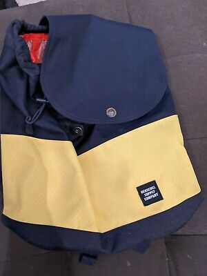 Herschel Supply Co Classic Color Blue & Yellow Canvas Backpack