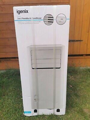 Igenix 3-in-1 Portable Air Conditioner Dehumidifier IG9909