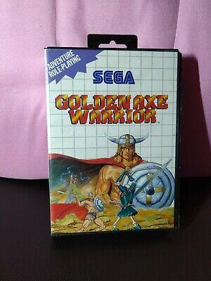 Golden Axe Warrior - Sega Master System