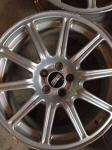 Selling repaired 5x100 BBS rims