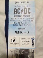AC DC ticket Brisbane 12th November  Coffs Harbour 2450 Coffs Harbour City Preview