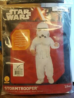 Brand New Star Wars Stormtrooper Toddler Costume - 24