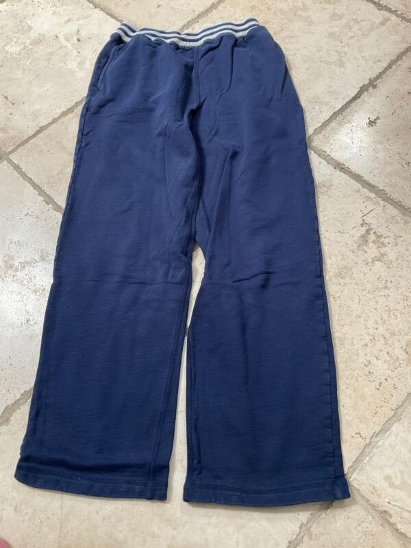 HANNA ANDERSSON Blue Rib Waist Pull On Pants, Size 160 (14-16)