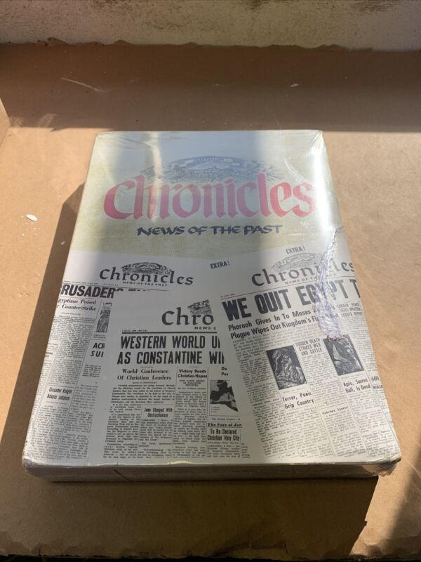 JERUSALEM Chronicles News Of The Past Book 1993 ed. History hardcover Brand New