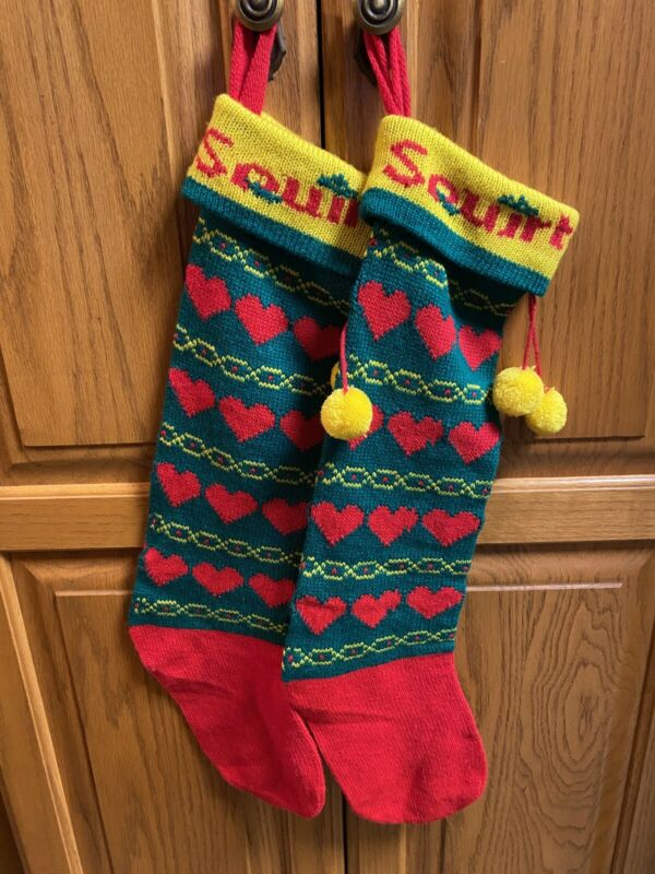 Squirt Soda Christmas Stocking~Kurt Adler 1984