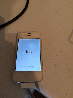 iPhone 4 32GB Scarborough Stirling Area Preview