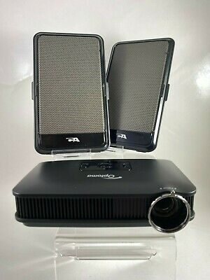 Optoma Pico PK301 Pocket Projector (with portable speakers included)