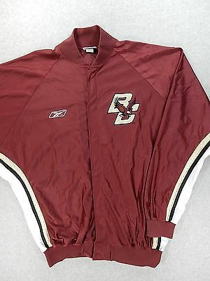 Boston College Eagles Authentic Basketball - Boston College Eagles Authentic Player Issue Basketball WarmUp Jacket (Size 48)