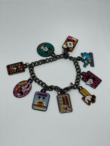 Disney Parks Classic Retro MICKEY MOUSE Charm Bracelet