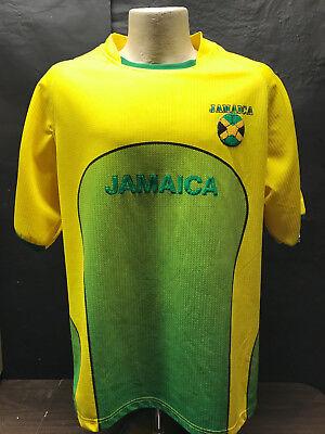 091dd19c7 JAMAICA Football Jersey Authentic Brand LMS Sports XL Soccer