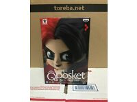 Banpresto Q Posket NEW Special Color Harley Quinn DC Comics Figure Authentic