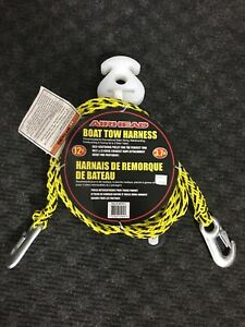 Boat tow harness