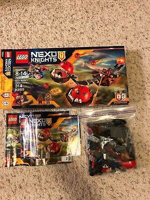 Lego Nexo Knights 70314 Beast Master Chaos Chariot, Age 8-14, 314 Pcs, Retired