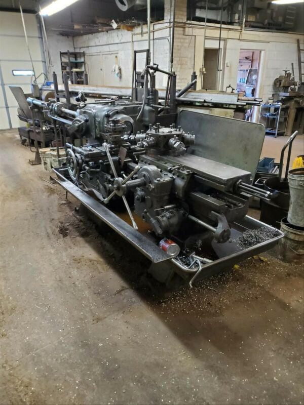 J &L No. 5 Universal Turret Lathe Jones and Lamson