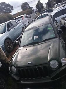 NOW WREAKING JEEP CAMPUS GREEN COLOR ALL PARTS 2007 Dandenong South Greater Dandenong Preview