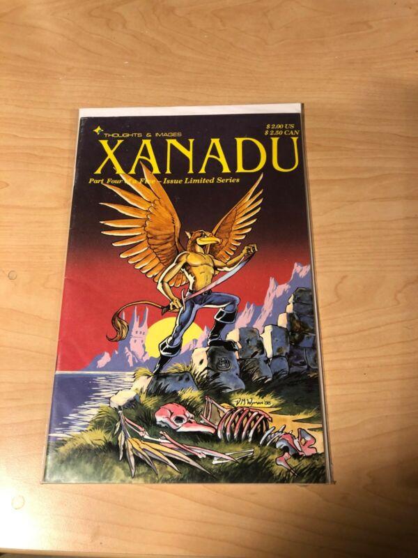 Xanadu #4 VF Never Read Bag n Board Eclipse