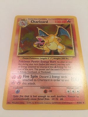 Pokemon 1999 Base Set Holo Charizard 4/102 TCG Card Gem Mint/ PSA Ready!
