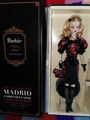 RARE BFMC BARBIE SILKSTONE MADRID CONVENTION FIORELLA NRFB 2013 PLATINUM LABEL