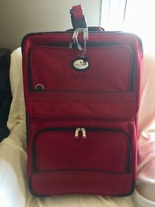"Air Canada luggage (in great shape) 27""x18""x10"""
