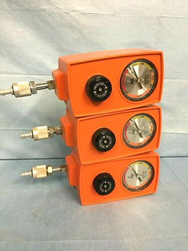 Ohio Vacuum Regulator 53701, Orange, Intermittent Suction Unit, Lot of 3