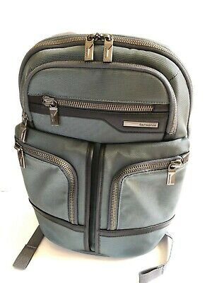 Samsonite GT Supreme 14.1 laptop backpack bluish gray - new without tags