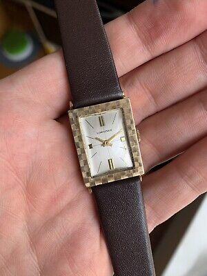 Vintage 1969 Longines Wittnauer Mens 10k Gold Filled Watch Ref.R6051 - Running