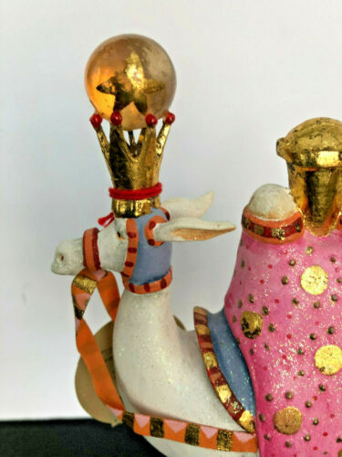 KRINKLES * WE THREE KINGS CAMEL FIGURE * NATIVITY * NIB Patience Brewster