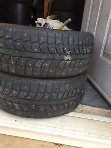 2-205/55R16 Uniroyal winter tires