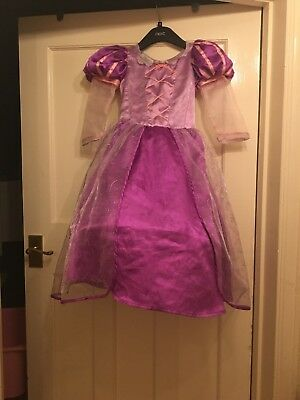 Disney Store Exclusive Rapunzel Tangled Fancy Dress Costume 5-6 Years Halloween