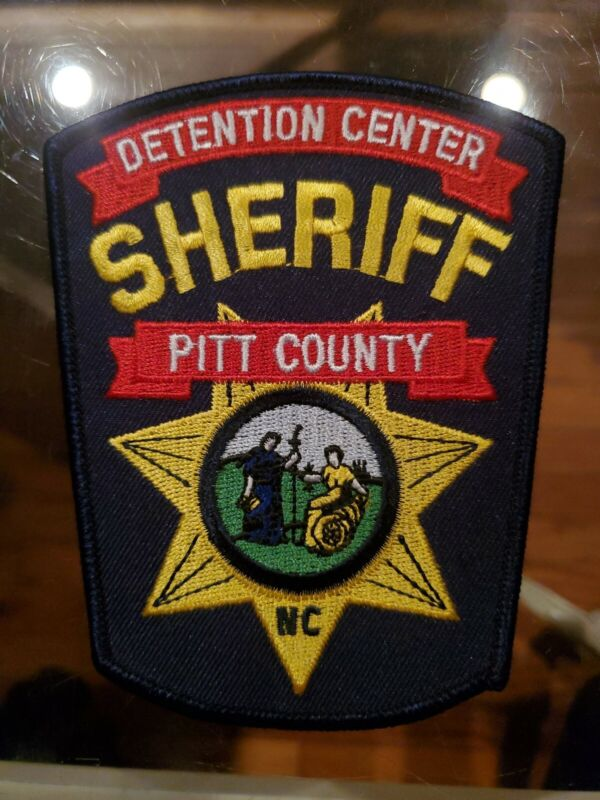 PITT COUNTY NORTH CAROLINA NC DETENTION DOC CORRECTIONS SHERIFF POLICE PATCH