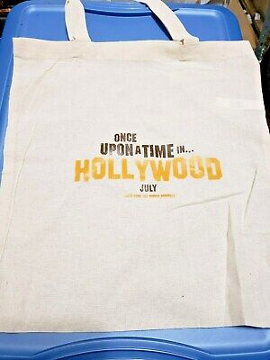 Hollywood Swag Bag (Once Upon Time In Hollywood (2019) SWAG Promo Tote Bag)