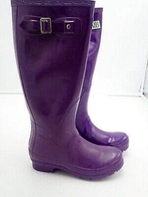Moneysworth & Best Women's Tall Rubber Welly Boots Size  5