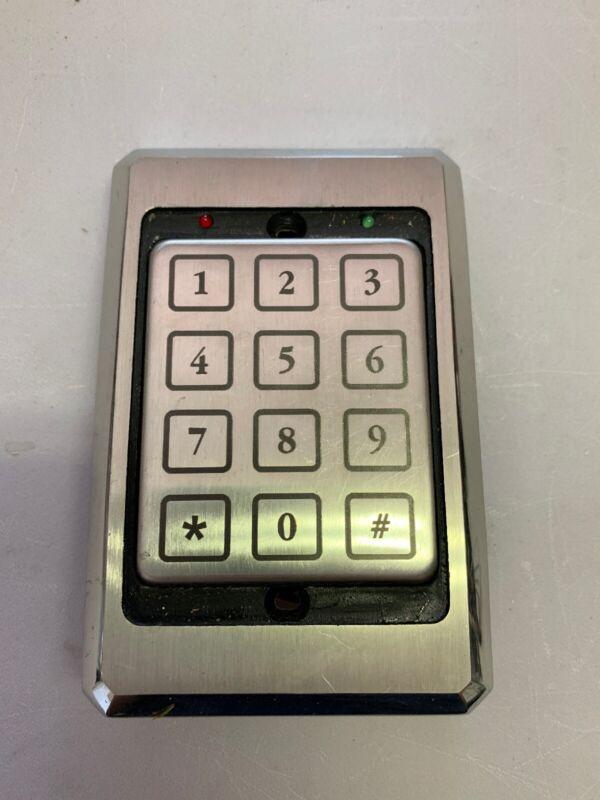 Essex Electronics KTP-103-SN 26 Bit Wiegand-5/12v- Access Control Keypad-USED