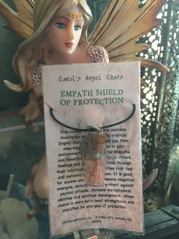 EMPATH SHIELD OF PROTECTION Necklace  by Carol