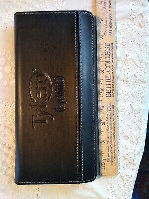 Leeds Faux Leather Padfolio Organizer Planner Notepad Folder New 9x4.5