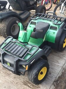 Battery powered 4 wheelers