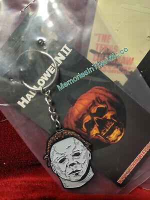 Halloween 2 Trick Or Treat Studios (Trick Or Treat Studios Halloween 2 Michael Myers Mask Horror Keychain NEW)