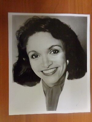 Vintage Glossy Press Photo Wbz Tv Channel 4 News Anchor Pam Moore
