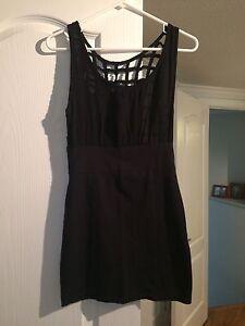 XS black dress