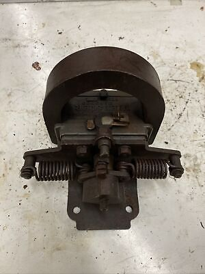 Webster Type E Oscillating Antique Hit And Miss Gas Engine One Cylinder Magneto