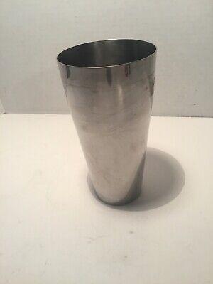 Vintage 7 Stainless Steel Milkshake Mixermalt Cup 30 Ounces