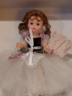 NRFB Madame Alexander Doll LAVENDER BOUQUET
