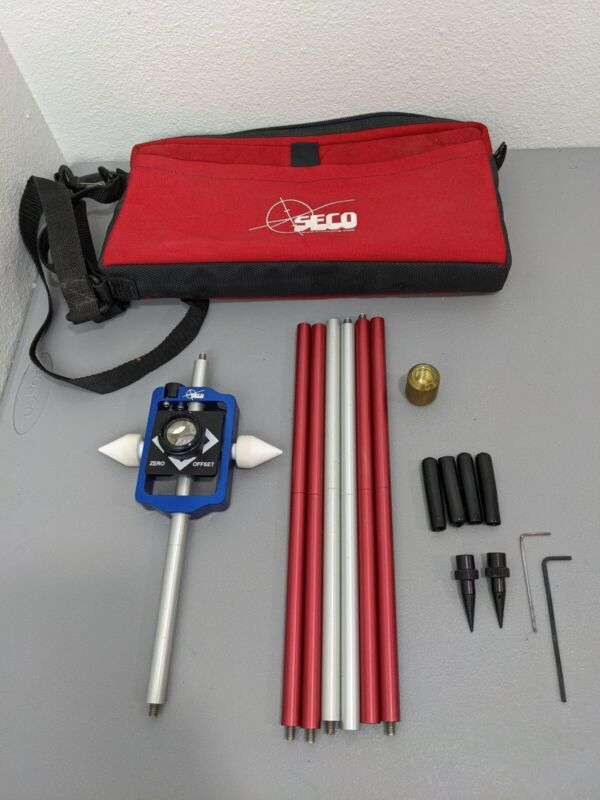 Seco Seco Sliding Prism and Sectional Pole Kit