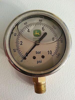 John Deere Water Technologies Oil-filled Water Pressure Gauge