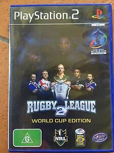 Playstation 2 Game - Rugby League 2 - World Cup Edition Albany Creek Brisbane North East Preview