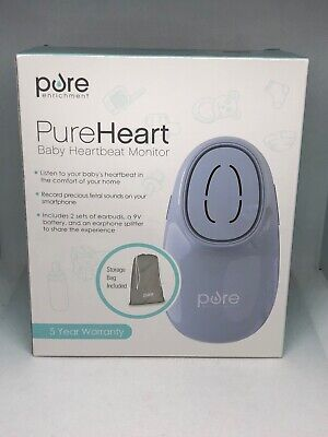 Pureheart Baby Heartbeat Monitor Pure Enrichment New In Sealed Box