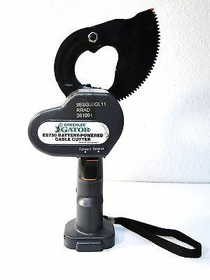 Greenlee Gator Es750 Cable Cutter Bare Tool